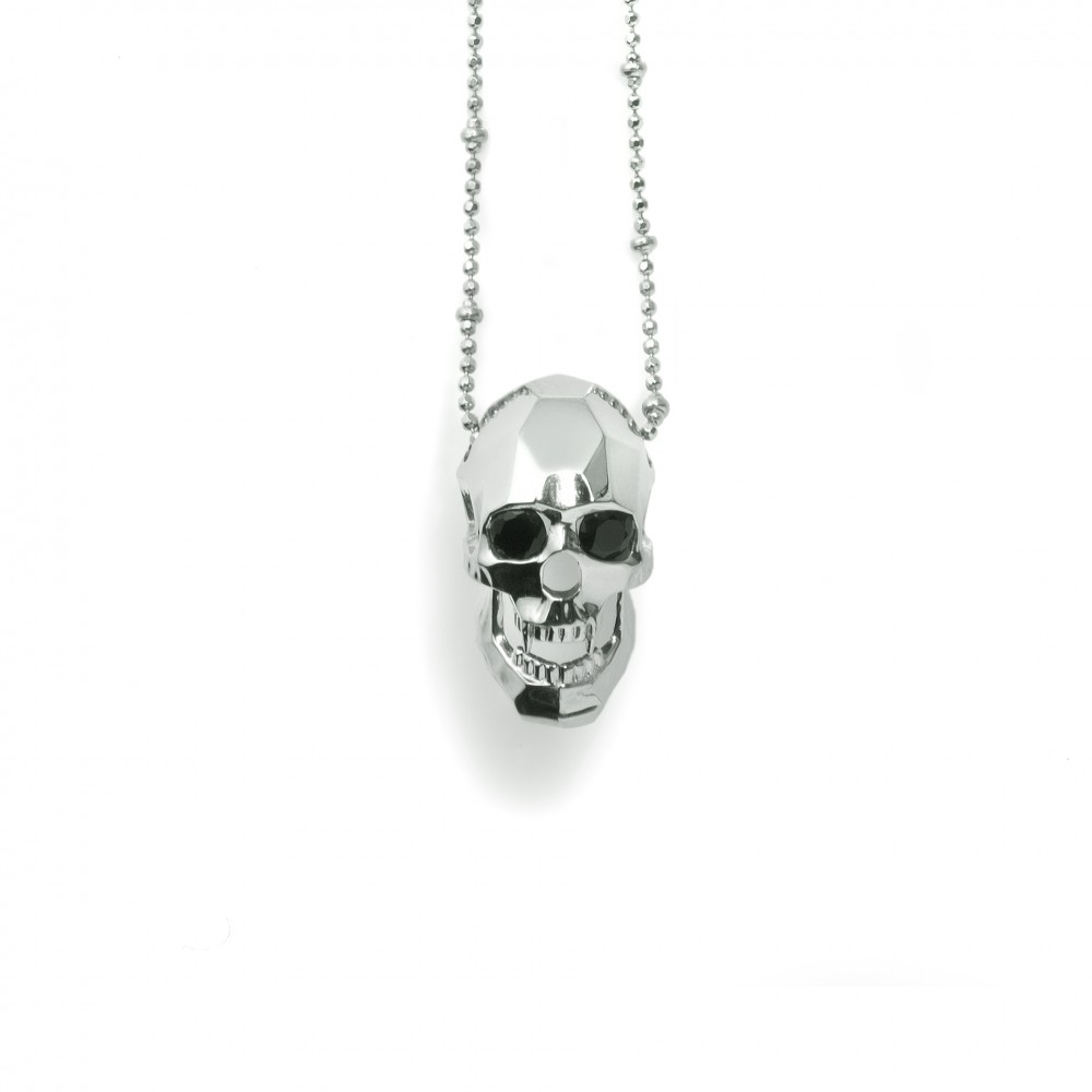 collections micro king womens for under rolo on women baby pendant pendants skull chain products