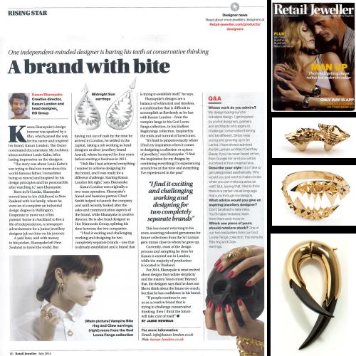 Retail jeweller July 2014