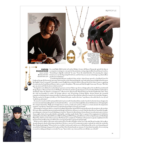 Fashion Quarterly page